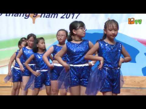 Màn nhảy kết hợp Aerobic - CLB Dancesport || Lễ Khai giảng BGS 2017 - 2018