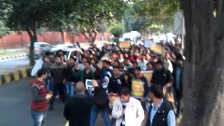 ssc cgl13 protest 08.01.14