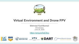 Speed Talk: Virtual Reality & Drone FPV
