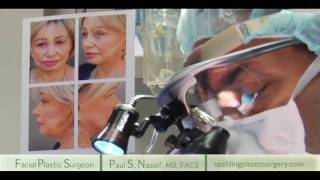 Live Facelift OR Footage | Dr. Paul Nassif
