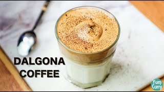Dalgona Coffee Recipe - How To Make Dalgona Coffee