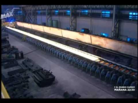 Cómo se fabrica el acero Inoxidable.webm