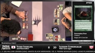 Pro Tour Magic 2015 - Quarterfinals - Yuuki Ichikawa vs. Jackson Cunningham