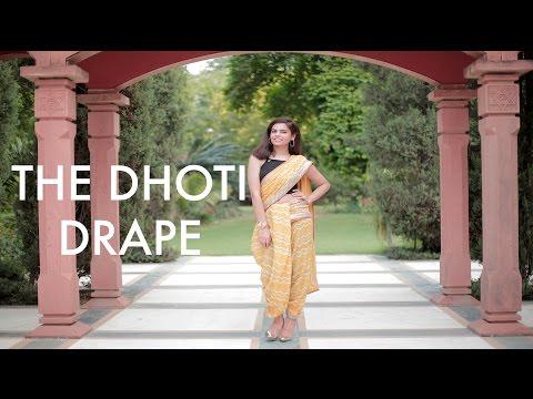 The Saree Series I The Art of Draping I The Dhoti Drape I #BringingSareeBack