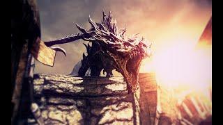 Skyrim: Алдуин воскрешает дракона.