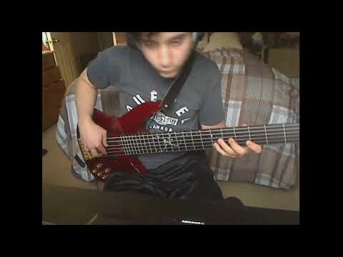 This is an example of me playing over a random YouTube backing track that I didn't really know.
