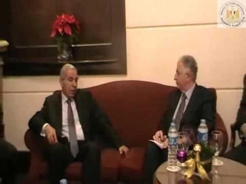 الوزير/طارق قابيل فى جلسة مباحثات مع الرئيس التنفيذى للمؤسسة الدولية الإسلامية لتمويل التجارة