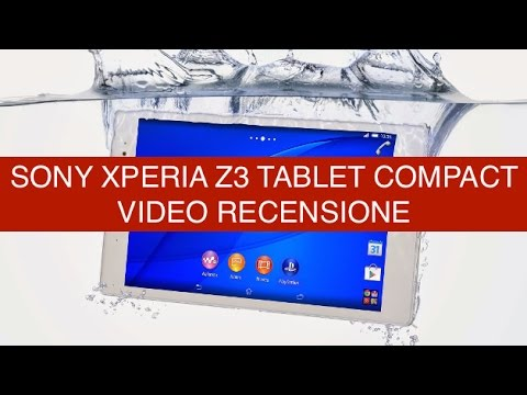Foto Recensione Sony Xperia Z3 Tablet Compact