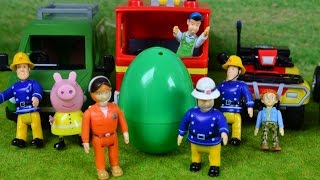 NEW Fireman Sam Surprise Egg Feuerwehrmann Sam 7 Surprises WOW
