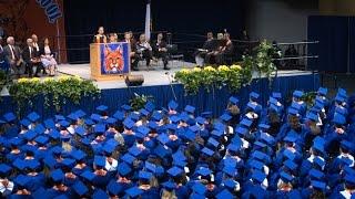 Central High School Graduation Ceremony 2016
