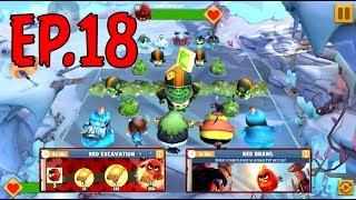 ANGRY BIRDS EVOLUTION - RED BRAWL and RED EXCAVATION - REWARD RED MATERIALS - EP18