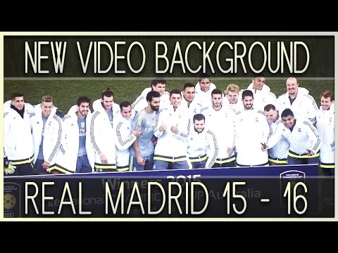 PES 2013 New Video Background REAL MADRID 2015 / 2016 by 162JEANP162