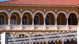 preview picture of video 'Archbishop's Palace, Nicosia, Cyprus'