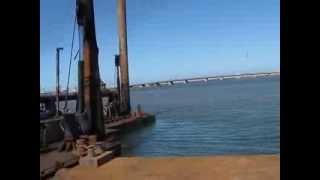 preview picture of video 'Elbrdaweel Algadida cutter suction dredger in Elmnzala lake - Port Said by:eng. Mostafa Mangoud'