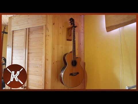 Gitarrenwandhalterung selbst gebaut    Philipp Konter