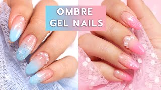 Easy Ombre Gel Nail Art 💅🏻