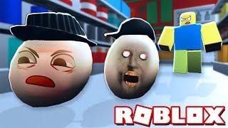 Бабуля GRANNY Яйцо! Играем в прятки в Роблокс симулятор - Roblox побег