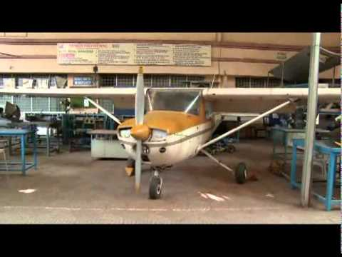 Cessana 150M Aircraft - Thakur Institute of Aviation Technology (TIAT)