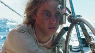 【穷电影】情侣被困大海41天,当女子转身看男友,却看到了绝望一幕