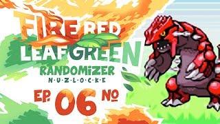 GROUDON IS HERE! - Pokémon FireRed & LeafGreen Randomizer Nuzlocke Versus w/ NumbNexus! Episode #06