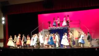 Grease 2015 Shakin'at the high school hop