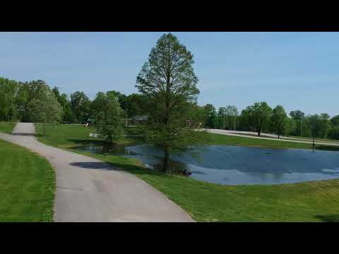 A quick overview of the grounds at the Vanderburgh 4-H Campground