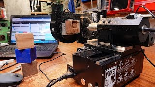5 axis CNC router - Pocket NC V2-50 tuning test