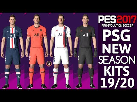 Download PES 2017 | PSG OFFICIAL KITS 19/20 | PREVIEW BY TR Mp4 HD Video and MP3