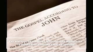 Arcykapłańska modlitwa Jezusa