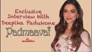 Exclusive Interview With Deepika Padukone | Padmaavat Promotions | Fever |