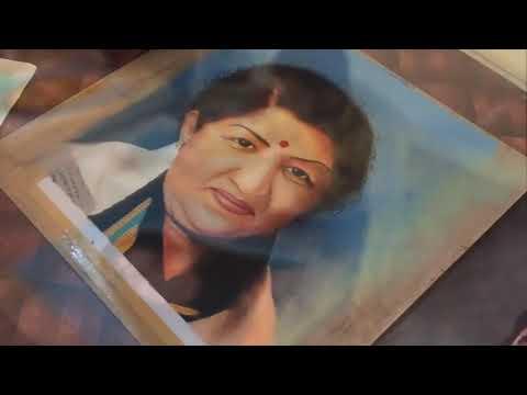 portrait rangoli design women's day by ganesh khare