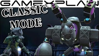 Classic Mode Gameplay in Super Smash Bros. Ultimate - Wolf (Direct Feed!)