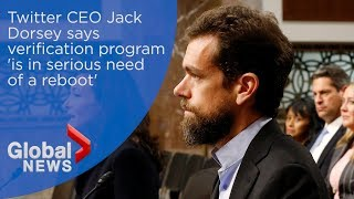 Twitter CEO Jack Dorsey Says Platform's Verification Program 'is In Serious Need Of A Reboot'