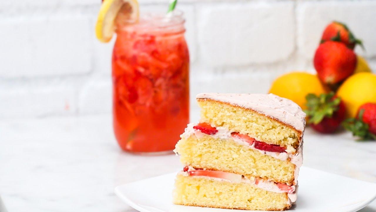 Strawberry Lemonade Cake Buzzfeed