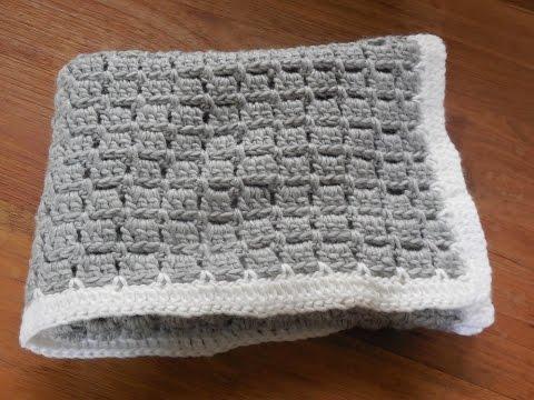 babydeken haken / baby blanket crochet beginner