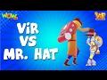 Vir The Robot Boy   Hindi Cartoon For Kids   Vir vs Mr Hat   Animated Series  Wow Kidz video download