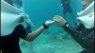 HELMET DIVE at Coral Ocean Park St. Thomas USA