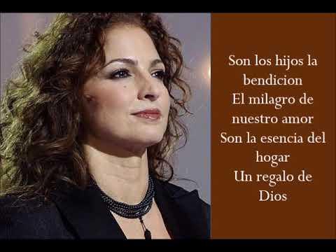 Milagro - Gloria Estefan - (Lyrics)