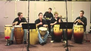 UD Latin Percussion Ensemble 2011