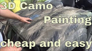 How To Camo Paint Almost Anything In 3D Cheap