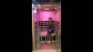 Loraine'sJacuzzi® Sanctuary 2 Sauna Helped Lower Blood Pressure