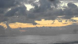 preview picture of video 'Israel's seafront  - The sun had set, the colors of the sunset still paint the sky with warm colors'