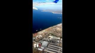 preview picture of video 'Aeropuerto El Tehuelche, vista aerea de Puerto Madryn'