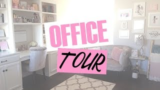 Office/Beauty Room Tour! Budget Friendly Decor Finds & More