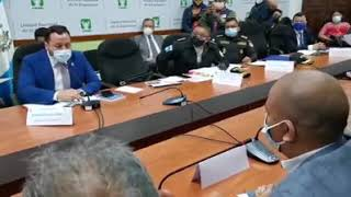 Paliza recibió en el Congreso el ministro de Gobernación y le piden su renuncia