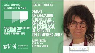 Youtube: Digital Talk | SMART ORGANIZATION E BENESSERE ORGANIZZATIVO: LA TECNOLOGIA AL SERVIZIO DELL'IMPRESA AGILE