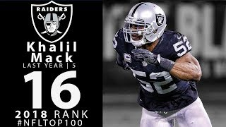 #16: Khalil Mack (DE, Raiders) | Top 100 Players of 2018 | NFL