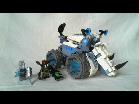 Vidéo LEGO Chima 70131 : Le char bouclier de Rogon
