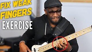 Weak Finger Workout For Bassists | Daric Bennett's Bass Lessons