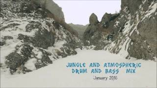Jungle and atmospheric drum and bass January mix 2016